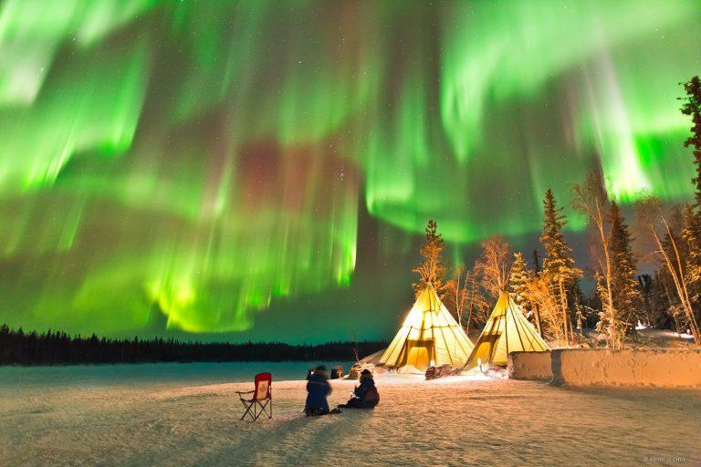 Tempat Dengan Keelokan Alamnya Untuk Melihat Aurora